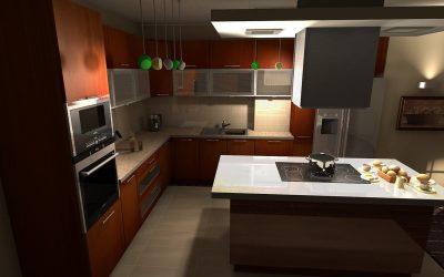 Kuchyně ze skla
